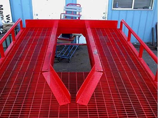 Portable Forklift Dock ramp for sale