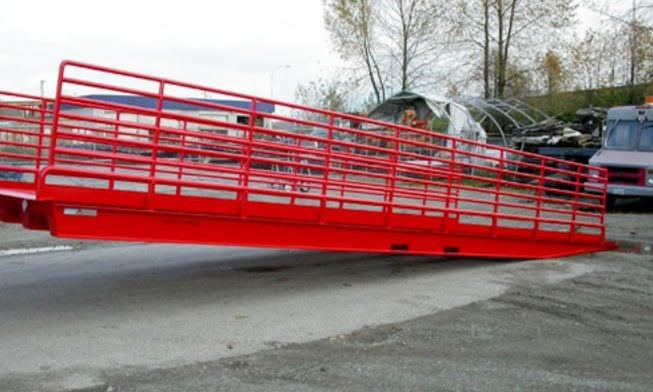 Forklift Loading Dock Ramps