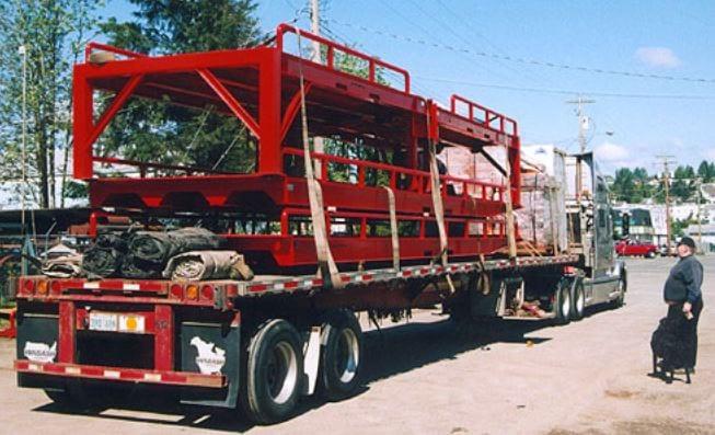 Portable Forklift Loading Dock Ramps
