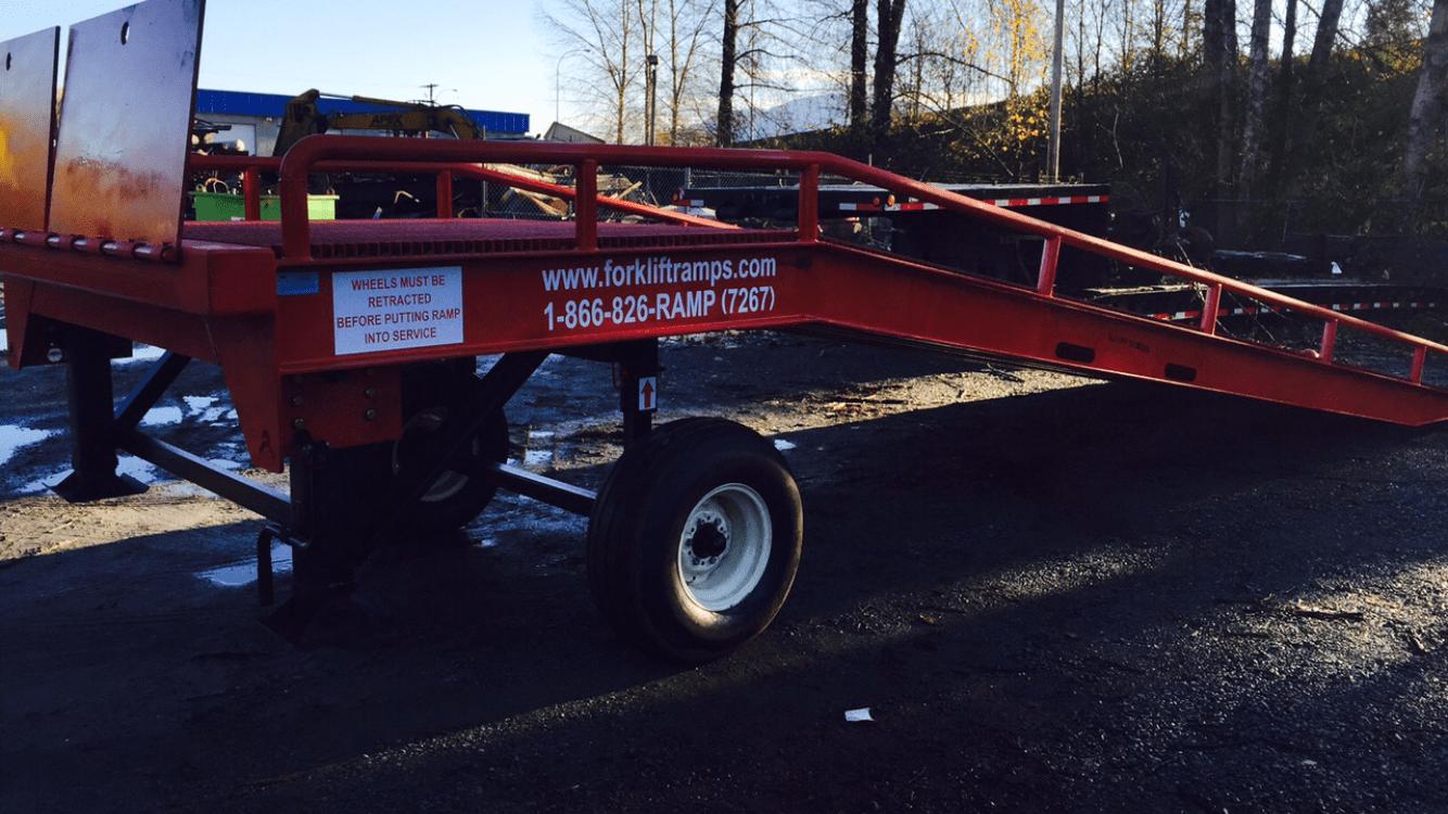 Forklift Ramps, forklift loading dock